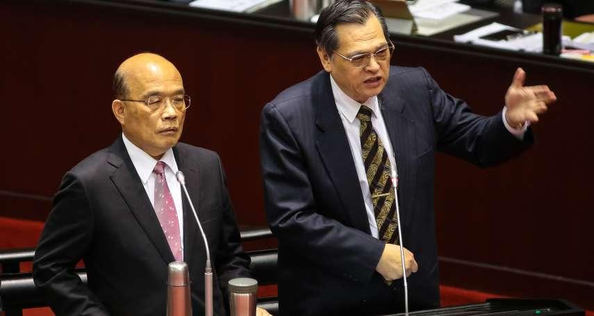 民進黨欲加強管制高官赴中「行為」 陳明通:國共論壇沒有問題
