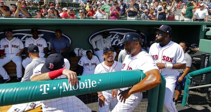 MLB》「老爹」參加紅襪春訓,認為這群小老弟已進入野獸模式