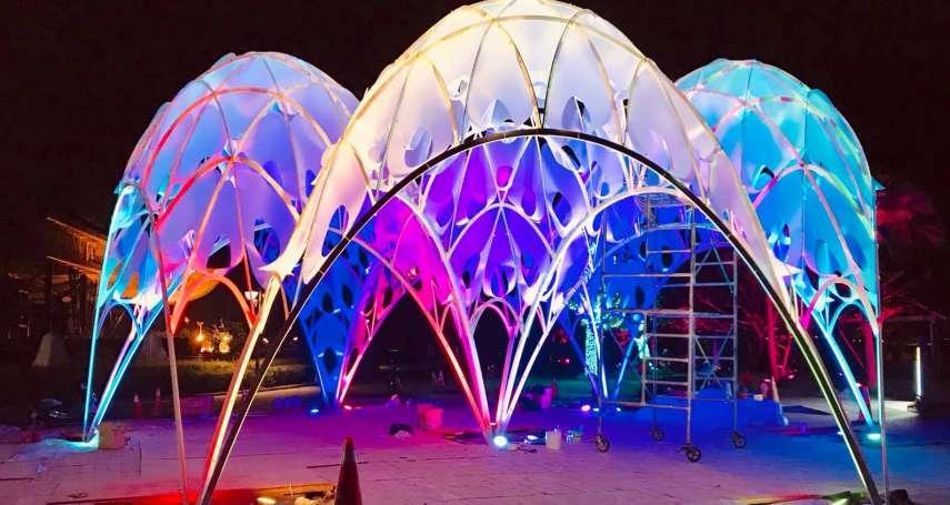 捷報!台灣燈會「珊瑚之心」獲國際設計大獎提名