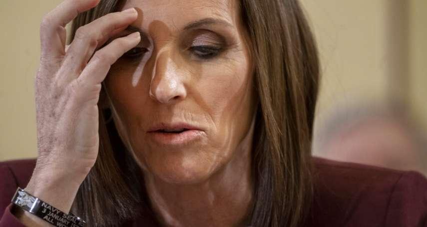 17歲遭教練性侵,服役期間又遭長官強暴…美國首位實戰女飛官、聯邦參議員麥克莎莉公開慘痛過往