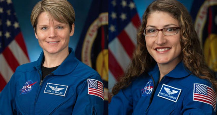 合身的太空服不夠!NASA史上首次「全女性太空漫步任務」臨時取消