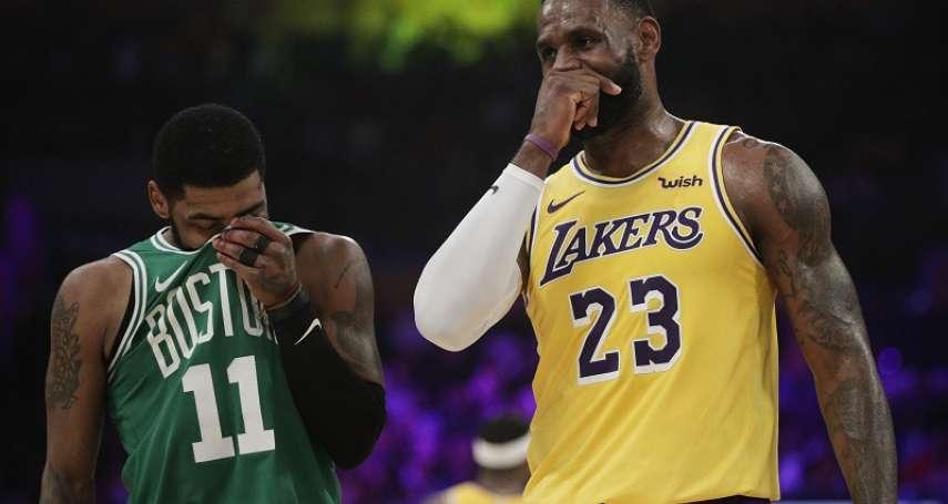 NBA》詹姆斯80次大三元達標無用 厄文狂砍30分力退湖人