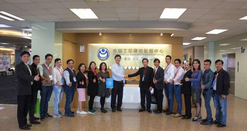 越南協會胡志明市機械與電子協會組團 訪高雄促商機