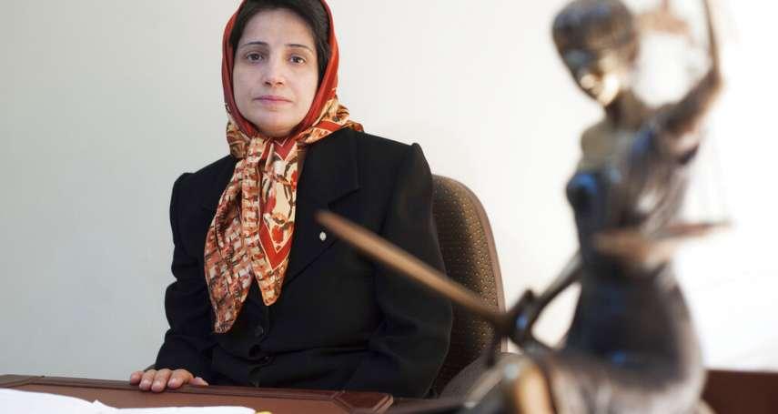 神權獨裁政體令人髮指!伊朗女律師捍衛人權的下場──入獄38年、鞭刑148下