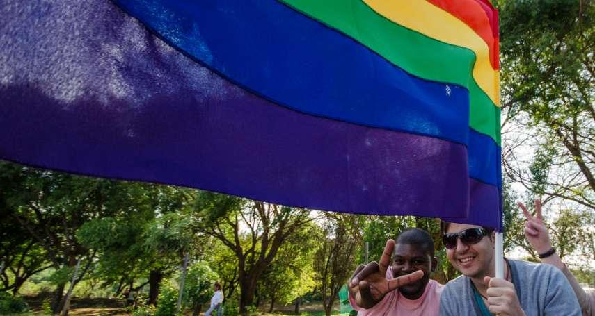 「婚姻是兩個人承諾廝守終生的結合」早台灣13年同婚合法化 南非成非洲唯一彩虹國度