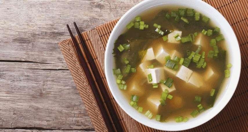 每天喝味噌湯,竟然有這些神奇效果!日本研究發現「豆類飲食」長壽的秘密