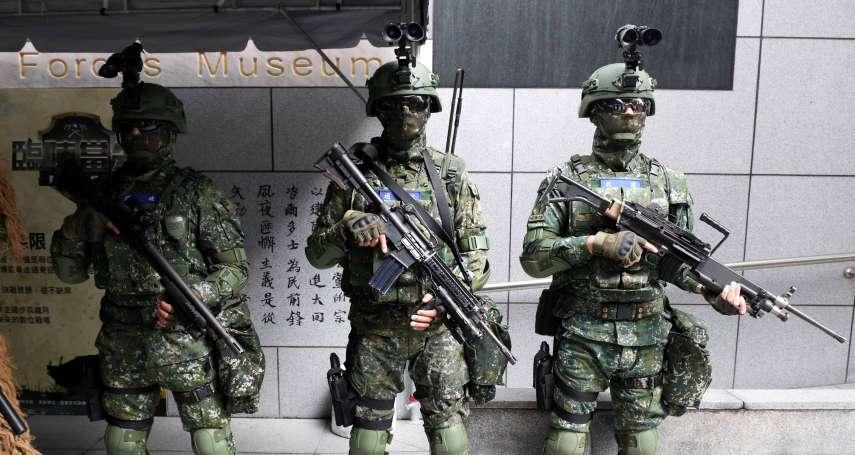 陸軍步兵展開幕加碼!特戰小組、4輪特戰突擊車陳展「來真的」