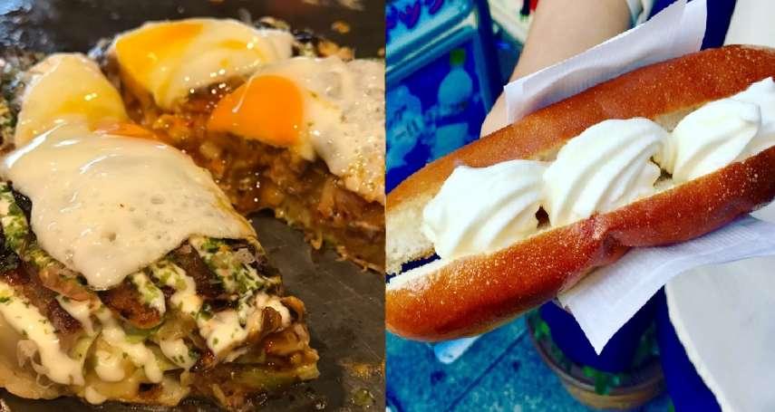 賞櫻可千萬別錯過美食!大阪必吃的10大「超人氣美味」,熱呼起司蛋糕沒吃到真的會後悔…