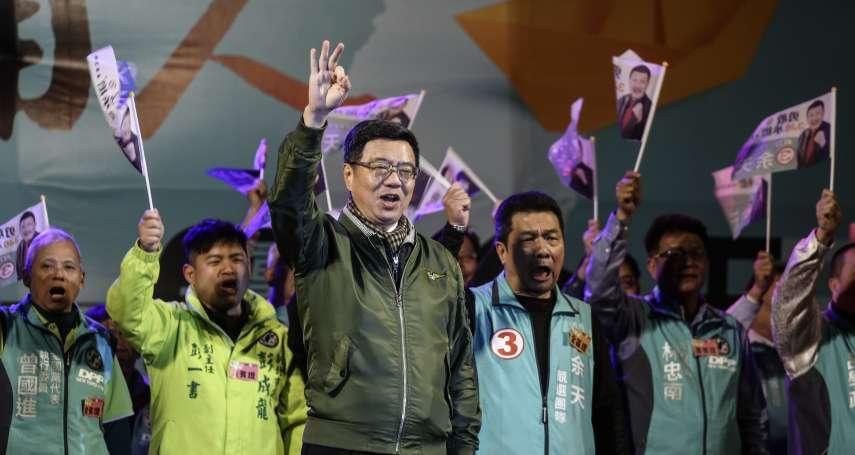 卓榮泰新北輔選 痛批「韓粉」摧殘台灣的新聞自由