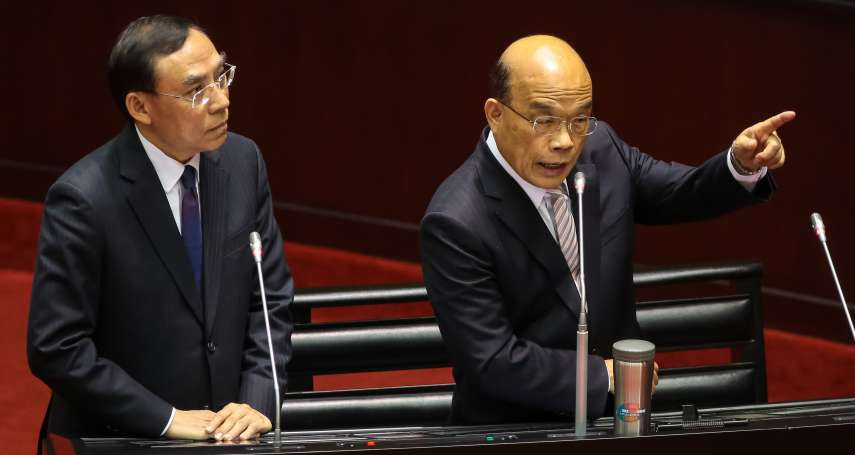 坦言「不滿意」司法改革成效 蘇貞昌提恐龍法官退場等3重點