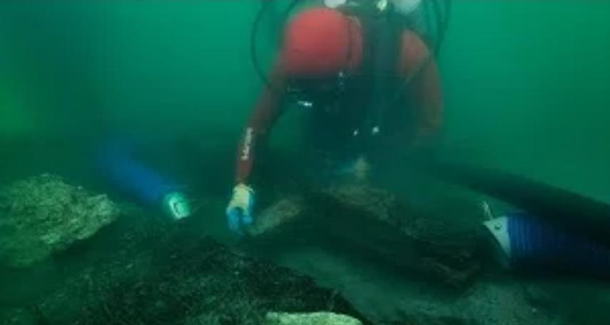 希羅多德筆下的傳說重見天日!失傳2469年的造船技法 英國考古團隊在海底古城發現古埃及駁船「巴利斯」