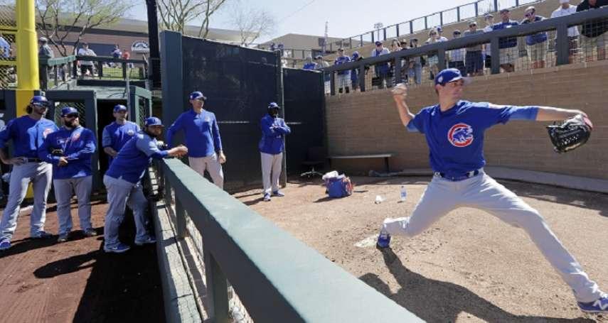 MLB》新賽季小熊牛棚充滿問號 先發群誓言吃更多局數