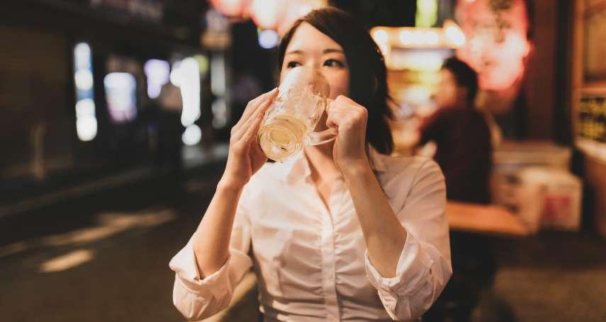喝酒臉紅代表酒量好、肝功能代謝好?大錯特錯!不只容易醉、還是種「基因缺陷」…