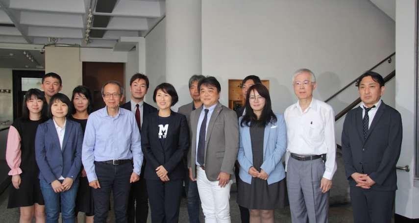 日本業者考察臺東特產 饒慶鈴親任品牌行銷大使