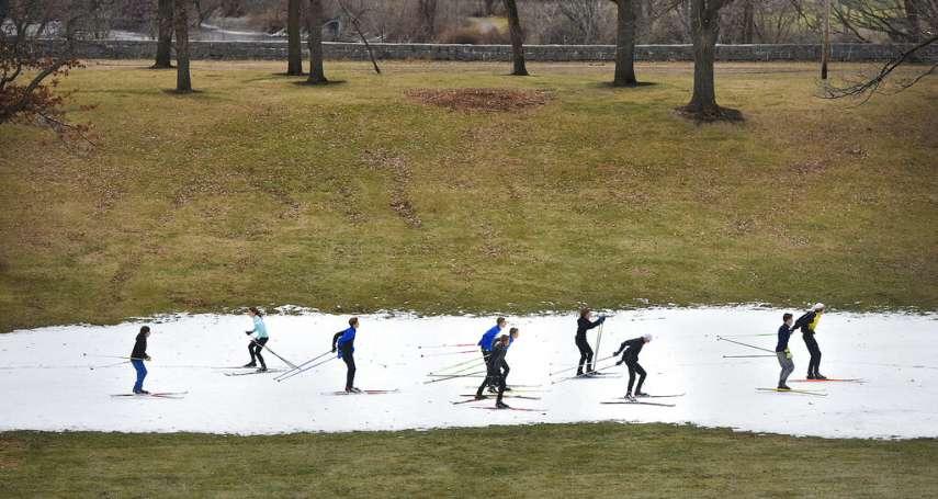 滑雪勝地竟然「雪不夠」!美國明尼蘇達州暖化嚴重:冬季賽事被迫取消,就連駝鹿也遭殃