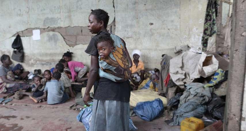 11萬災民擠爆莫三比克難民營!熱帶氣旋橫掃東非已釀750死 瘧疾、霍亂疫情蠢蠢欲動