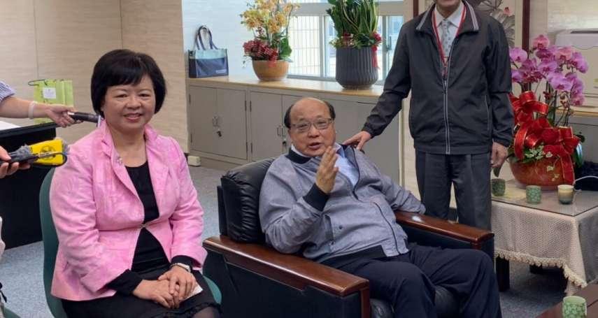北市第3位副市長出爐!就任日先上演「柯胡會」 蔡炳坤:願當兩人之間橋梁