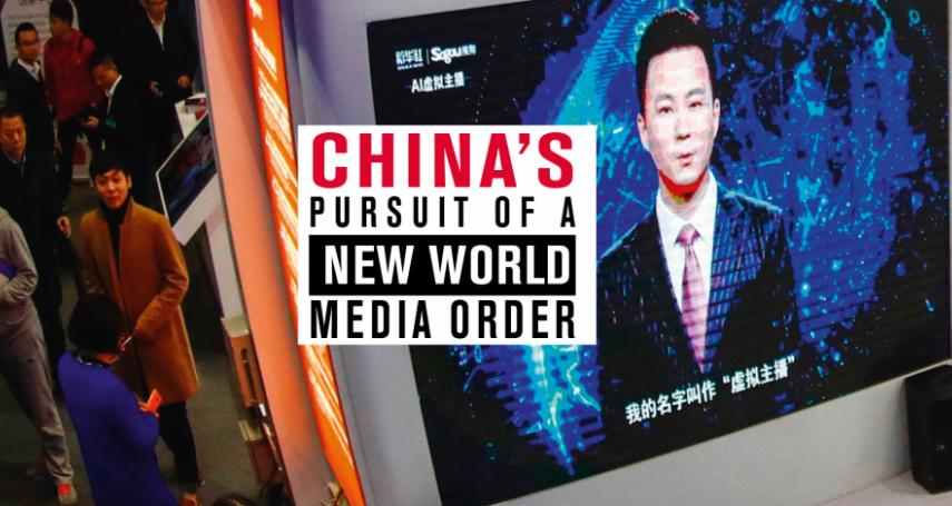 中國政府今年在迫害記者排行榜上拿下兩個全球第一