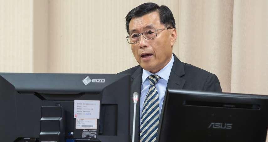 韓國瑜進香港中聯辦 國安局長:不算違法,但有落入統戰陷阱的可能