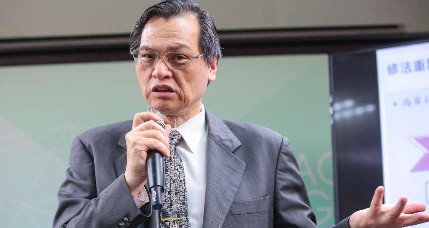 台美智庫合作!陸委會主委陳明通周六訪美 出席2場研討會談兩岸關係