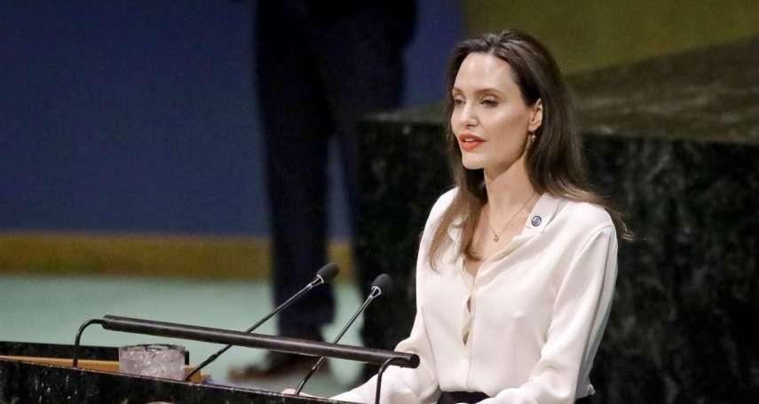 安潔莉娜裘莉:漠視女權和女性政治參與,全世界擺脫不了暴力衝突循環