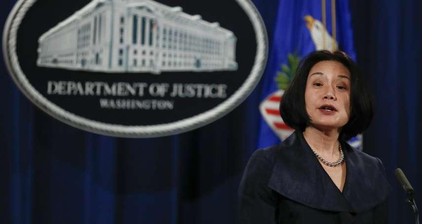 支持女性墮胎權惹到共和黨》美國司法部第三把手人選 台裔劉潔西退出提名