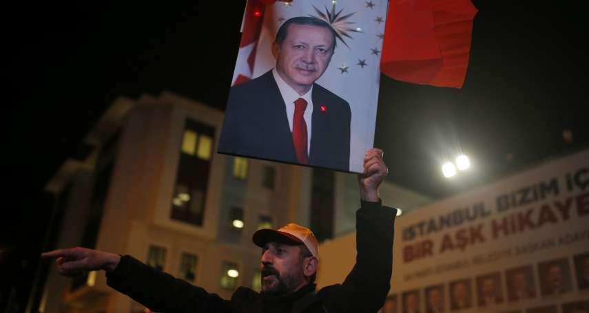 當選證書拿到了也不算數 伊斯坦堡巿長6月重選 反對黨質疑總統輸不起 怒轟「重創土耳其民主」!