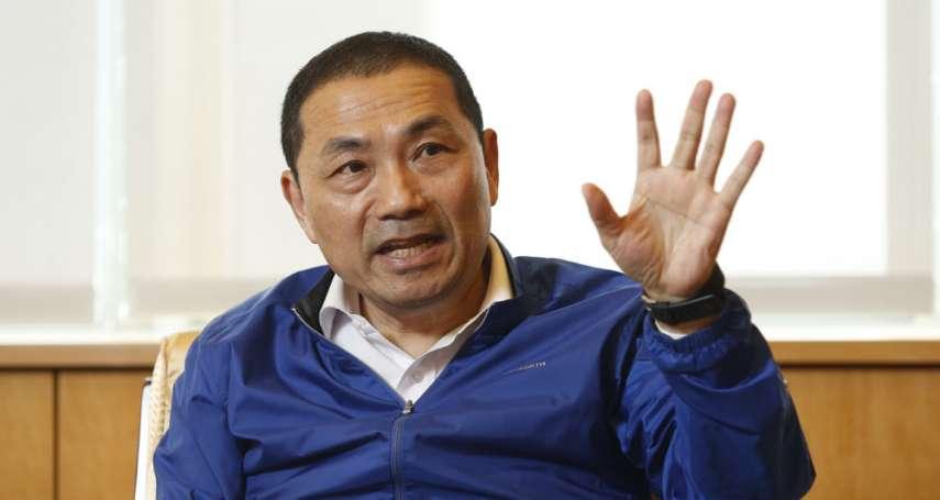 新新聞》專訪侯友宜,神探市長長霸氣領導,稱:「總統是我的大客戶」