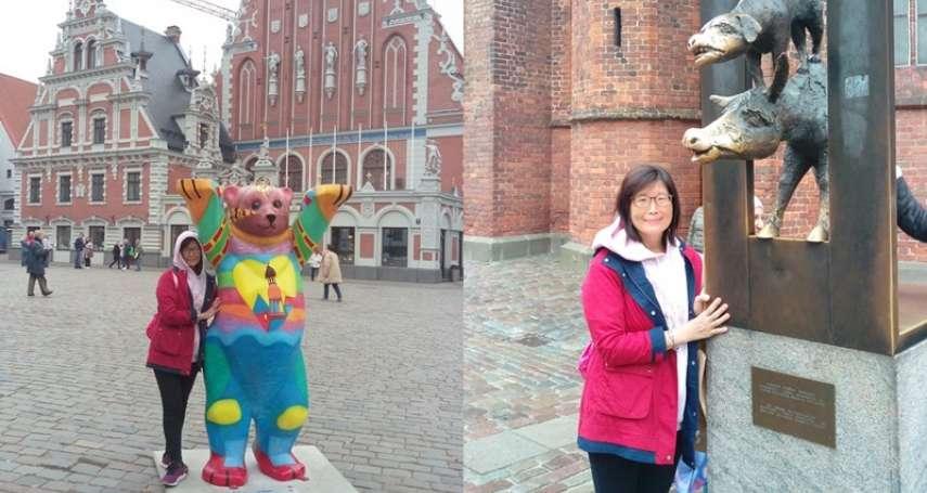 【謝幸吟專欄】布來梅城市樂手、里加熊、羅蘭騎士雕像在里加
