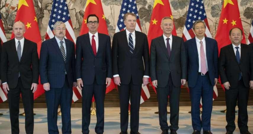 「美中貿易協議90%都已敲定」《紐時》:最後10%若順利解決,川習會可望4月登場