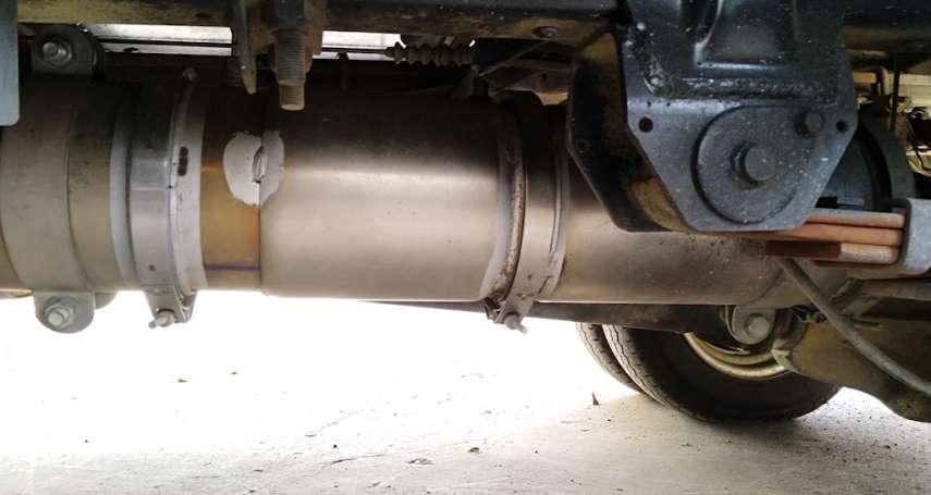 拆除屆齡清潔車濾煙器程序合法 中市府強調無浪費公帑