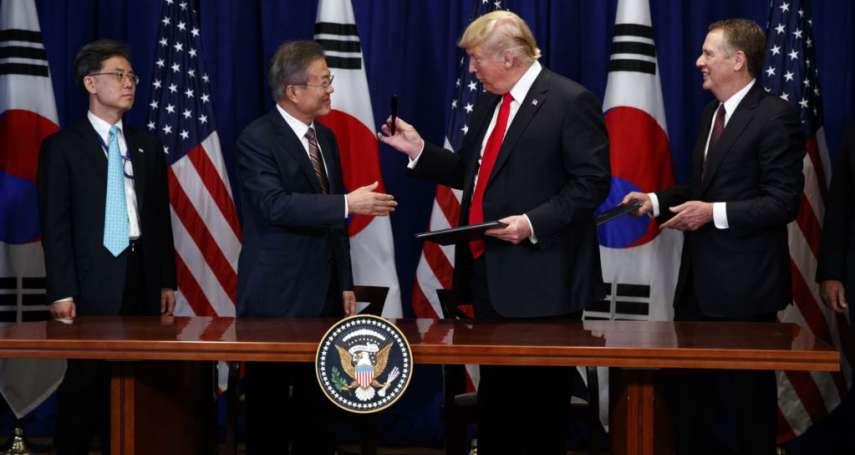 文在寅今訪白宮 韓媒:或籲請川普放鬆對北韓制裁,推動第三次川金會