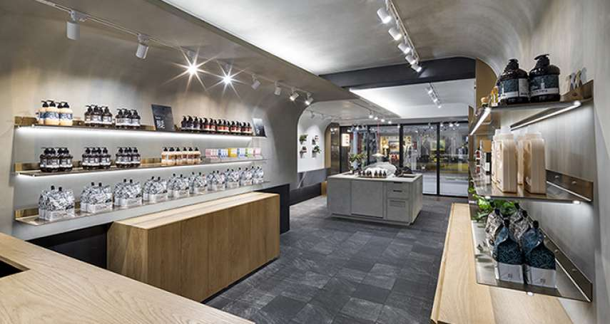 「用土地的善良,對身體善良」,茶籽堂永康街概念店開幕