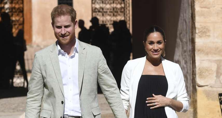 英國王室第一個混血寶寶》女王再度當曾祖母!梅根王妃誕下健康男娃 哈利王子開心宣佈:母子均安