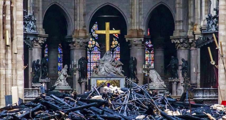 巴黎聖母院大火》「聖戰分子在狂歡!」德極右派政黨竟趁機散播陰謀論:惡火是「反基督徒」的攻擊