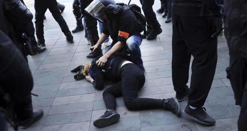 眼球縫17針、眼皮縫4針!失明黃背心示威者重返街頭,控訴法國鎮暴警察執法過當