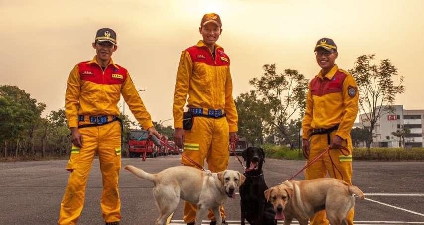 竹市特搜隊將添戰力 3隻「護竹神犬」明年中上陣服役
