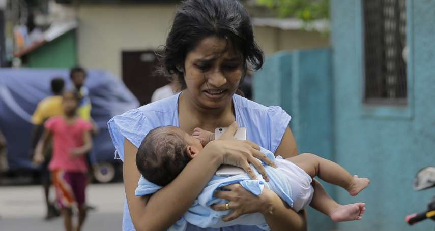 「看見我們過著什麼樣的生活了嗎?」斯里蘭卡天主教堂附近貨車驚傳爆炸 民眾尖叫驚逃