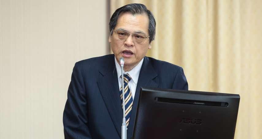 藍委質詢問「敢不敢到北京喊中華民國」 陳明通高聲嗆:敢啊!
