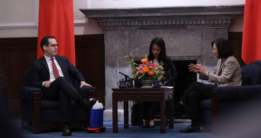 接見「新美國安全中心」訪問團 蔡英文分享台灣如何迎戰假訊息