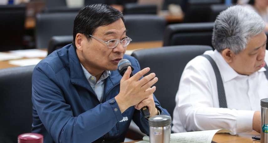 民進黨反自經區  曾銘宗批:為反對而反對,現在已准許進口中國大陸99.9%工業產品及原物料