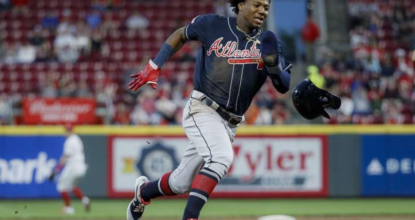 MLB》阿庫尼亞年紀輕輕 已是帶領勇士重上軌道的精神領袖