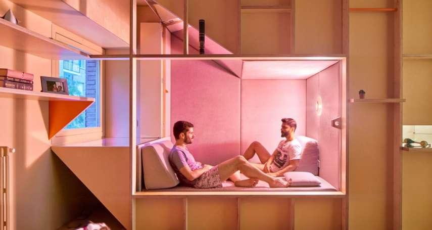 14坪小房竟也能那麼舒適美麗!一窺馬德里醫師的小公寓,明亮、通風「設計超巧妙」!