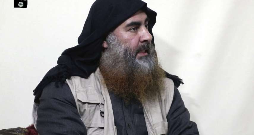 伊斯蘭國領導人巴格達迪的恐怖末路:退入隧道之中,炸死自己與2個孩子