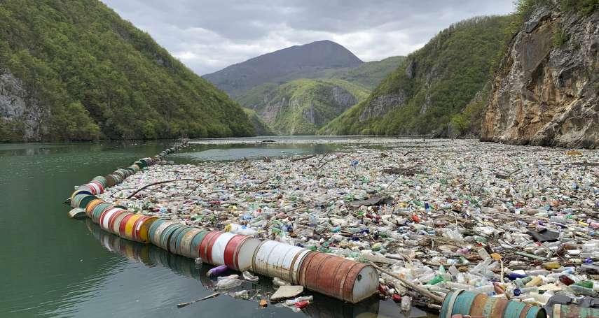 流淌在巴爾幹半島上的哭泣河流:垃圾處理系統不完備,波士尼亞河川一年竟堆積80萬噸廢棄物