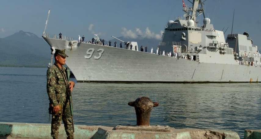 川普頻頻對中國出招!美軍兩神盾艦駛入南沙島礁12海里航行,解放軍:已依法識別驅離
