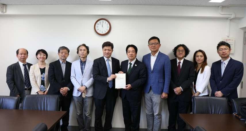日本學者:核食公投影響台日關係 賴清德:兩國政府多說明、多宣傳