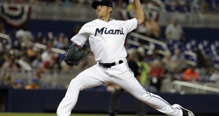 MLB》陳偉殷用11球演3上3下 中止連2場失分
