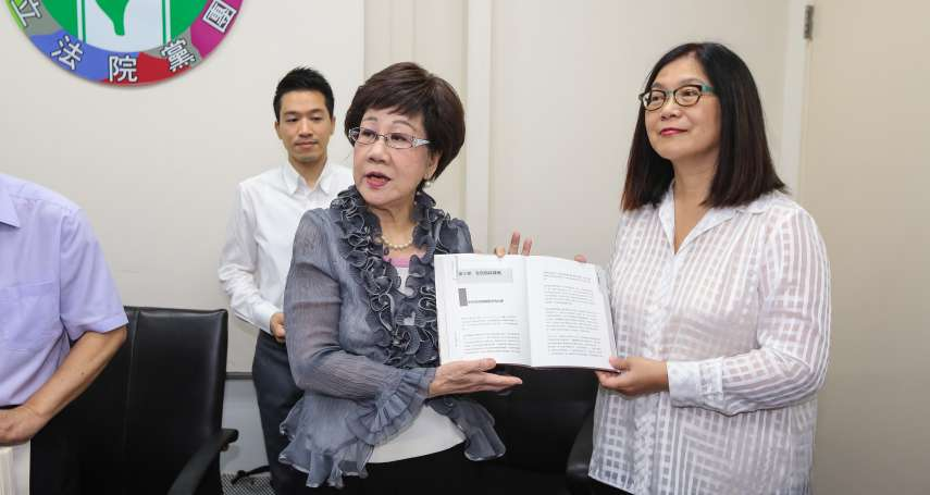 轟《公投法》修正草案反人權 呂秀蓮:不相信當過人權律師的蘇貞昌,會拍板這樣一個草案