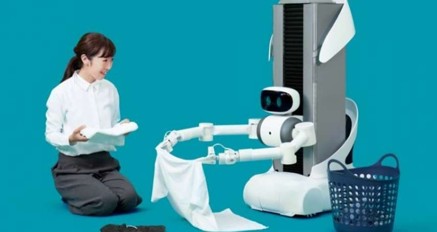 月付7000、遙控機器人幫忙摺衣服,你願意嗎?日本推月租摺衣機器人,盼掀起AI家事革命